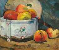 Still Life with Peaches painting reproduction, Paul Gauguin