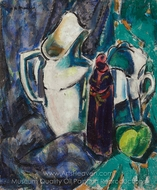 Still Life with Pitcher painting reproduction, Alfred Henry Maurer