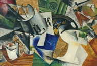 Still Life with Tray painting reproduction, Liubov Popova