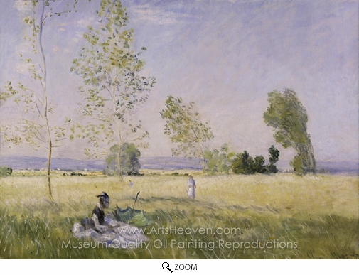 Claude Monet, Summer oil painting reproduction