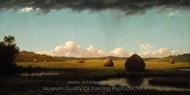 Summer Showers painting reproduction, Martin Johnson Heade