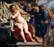 Susanna and the Elders painting reproduction, Peter Paul Rubens