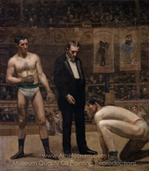 Taking the Count painting reproduction, Thomas Eakins