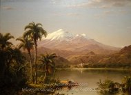 Tamaca Palms painting reproduction, Frederic Edwin Church