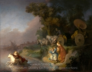 The Abduction of Europa painting reproduction, Rembrandt Van Rijn