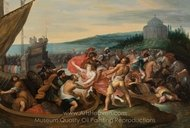 The Abduction of Helen painting reproduction, Frans Francken