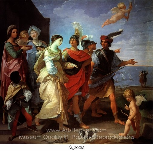 Guido Reni, The Abduction of Helen oil painting reproduction