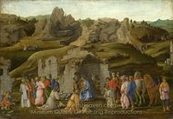 The Adoration of the Kings painting reproduction, Filippino Lippi