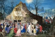 The Adoration of the Kings painting reproduction, Jan Brueghel