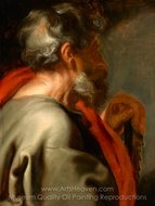 The Apostle Simon painting reproduction, Sir Anthony Van Dyck