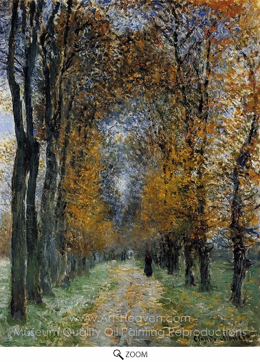 Claude Monet, The Avenue oil painting reproduction