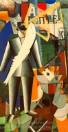 The Aviator painting reproduction, Kasimir Malevich