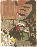 The Bakery (La Patiserie) painting reproduction, Edouard Vuillard