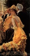 The Ball painting reproduction, James Tissot
