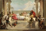 The Banquet of Cleopatra painting reproduction, Giovanni Battista Tiepolo
