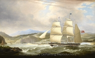 The Barque Woodmansterne Calling for a Pilot painting reproduction, John Lynn