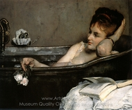 The Bath painting reproduction, Alfred Stevens