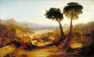 The Bay of Baiae, with Apollo and the Sibyl painting reproduction, Joseph M. W. Turner