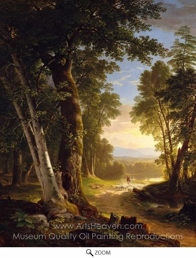 Asher Brown Durand, The Beeches oil painting reproduction
