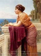 The Belvedere painting reproduction, John William Godward