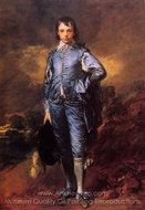 The Blue Boy (Jonathan Buttall) painting reproduction, Thomas Gainsborough