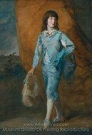 The Blue Page painting reproduction, Thomas Gainsborough