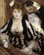 The Box at the Opera (La Loge) painting reproduction, Pierre-Auguste Renoir