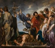 The Brazen Serpent painting reproduction, Sir Anthony Van Dyck
