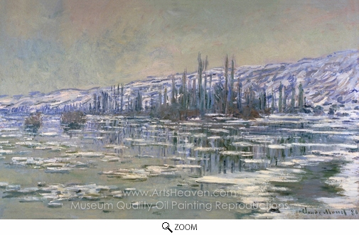 Claude Monet, The Break-up of the Ice oil painting reproduction