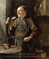 The Brewmaster painting reproduction, Eduard Von Grutzner