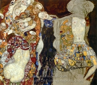 The Bride painting reproduction, Gustav Klimt