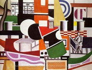 The Bridge of the Tug Boat painting reproduction, Fernand Leger