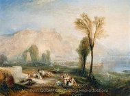 The Bright Stone of Honor Ehrenbrietstein and the Tomb of Marceau painting reproduction, Joseph M. W. Turner