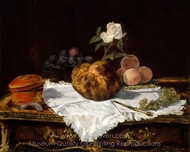 The Brioche painting reproduction, �douard Manet