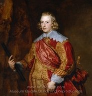 The Cardinal Infante Fernando de Austria painting reproduction, Sir Anthony Van Dyck