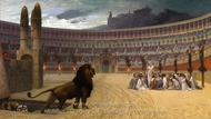 The Christian Martyrs Last Prayer painting reproduction, Jean-Leon Gerome