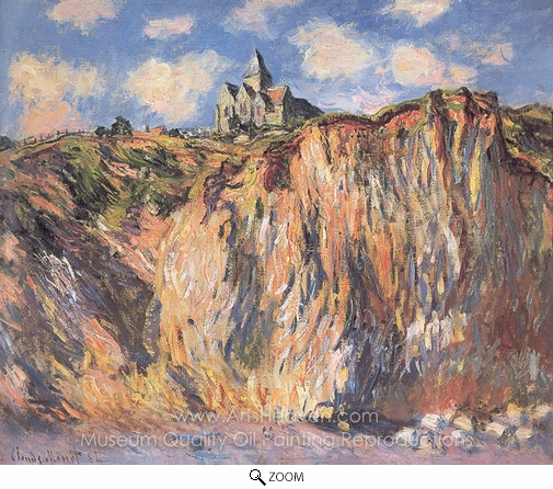 Claude Monet, The Church at Varengeville, Effect of Morning oil painting reproduction
