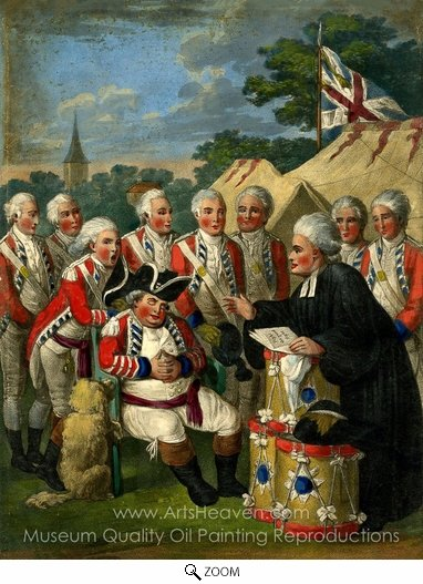 John Collet, The Church Militant oil painting reproduction