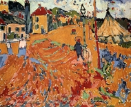The Circus painting reproduction, Maurice De Vlaminck