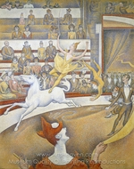 The Circus painting reproduction, Georges Seurat