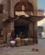 The Color Grinder painting reproduction, Jean-Leon Gerome