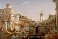 The Consummation of Empire painting reproduction, Thomas Cole