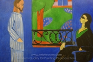 The Conversation painting reproduction, Henri Matisse
