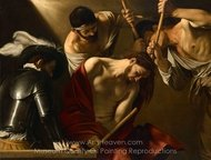 The Crowning with Thorns painting reproduction, Caravaggio