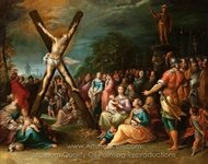 The Crucifixion of St. Andrew painting reproduction, Frans Francken