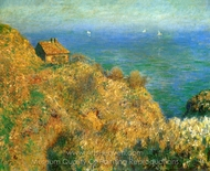 The Customs Officer's Cabin at Varengeville painting reproduction, Claude Monet