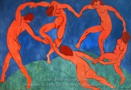 The Dance painting reproduction, Henri Matisse