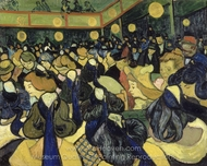 The Dance Hall in Arles painting reproduction, Vincent Van Gogh