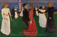 The Dance of Life painting reproduction, Edvard Munch