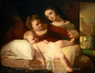 The David Children painting reproduction, Thomas Sully